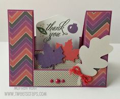 TweetScraps: Sangria Fun Fold Cards - November Workshop