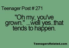 Teenagers Related Posts. This is what you say in your head when someone points out the obvious things!
