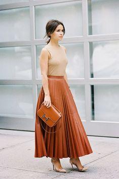 Leather Skirt For Summer