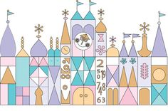 It's a Small World Digital Printables Facade by nested on Etsy, $15.00