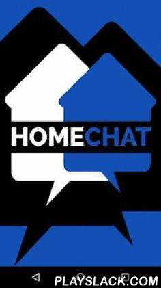 Homechat Bluetooth  Android App - playslack.com , HomeChat ermöglicht es mit mehreren anderen HomeChat-Apps innerhalb eines Bluetooth-Netzwerkes anonym und diskret zu kommunizieren. Der Kern der App ist ein Chat-Protokoll, über welches man Texte und Bilder direkt über den Live-Stream teilen kann. Nach Beendigung einer Chat-Session verfallen sämtliche Daten und werden umgehend gelöscht. Damit bleiben keine verhängnisvollen Spuren zurück. Reichweiten je nach Räumlichkeiten bis zu 100 Meter…