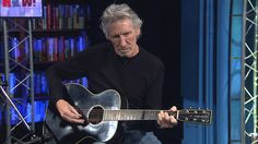 """Watch Roger Waters perform """"We Shall Overcome"""" accompanied by Alexander Rohatyn on cello, in the Democracy Now! studio."""