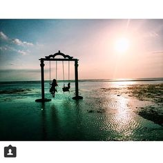 "5,037 Likes, 814 Comments - The Bali Bible #thebalibible (@thebalibible) on Instagram: ""Wednesdays do not get better than this! Gili Trawangan ocean swings by @ashjordanrea #gilit #bali…"""
