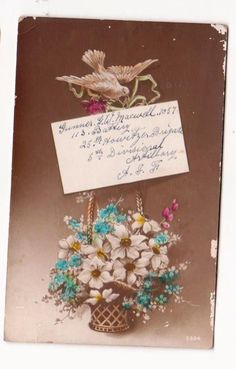 1912 WW1 postcard from Gunner Maxwell of the Australian Infantry Forces