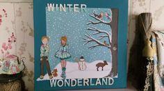 Winter Wonderland createx by Susanna Easdale.🎨