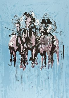 Horse artist Elizabeth Armstrong is artist in residence at Royal Windsor race course. She's from Hertfordshire so we interviewed her about her passion for equine art. Sculpture Art, Sculptures, Horses And Dogs, Equine Art, Horse Art, Dog Art, Abstract, Exhibitions, Windsor
