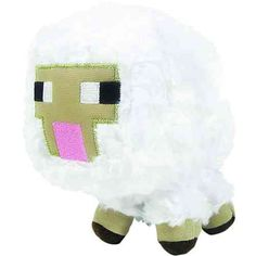 Minecraft Baby Sheep Plush: Take your favorite Minecraft characters on the go with the Minecraft Plush Collection. Cuddle up or play out your favorite game with the Minecraft Overworld plush. Creeper Minecraft, Minecraft Sheep, Minecraft Baby, Minecraft Gifts, Minecraft Bedroom, Minecraft Stuff, Minecraft Ideas, Baby Sheep, Baby Cows