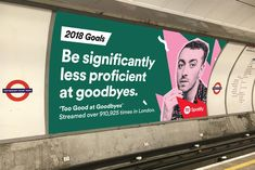 Witty Spotify ads use our odd listening habits as 2018 goals | Creative Bloq