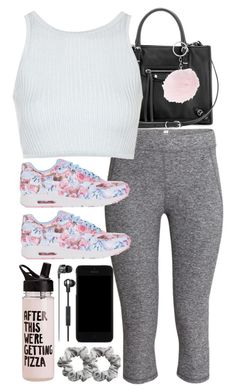 """""""Look #552"""" by foreverdreamt ❤ liked on Polyvore featuring H&M, Dolce&Gabbana, Balenciaga, Topshop and NIKE"""