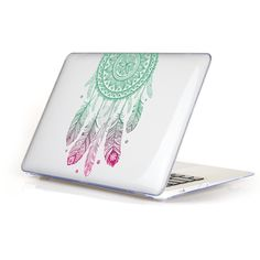 Amazing Unique Dream Catcher Feather Pattern Air 13 11 Crystal Clear Case for MacBook Pro Retina 13 15 Hard Cover Mac Book 12 Dream Catcher Materials, Dream Catcher Patterns, Macbook Hard Case, Laptop Covers, Keyboard Cover, Feather Pattern, Macbook Pro Retina, Mac Book, Apple Mac