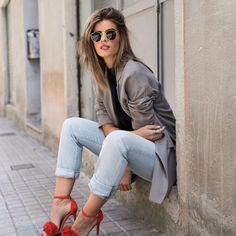 Si, en mayo del 2017 llevaba sandalias  #MayoPolar #tbt #mstreinta #outfit #look