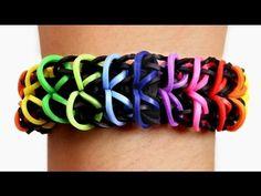 Rainbow Loom Nederlands - Zippy Chain Armband || Loom bands, rainbow loom, nederlands, tutorial - YouTube