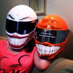 bandit smiley motorcycle helmets