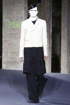 Rick Owens Menswear Fall Winter 2016 Paris