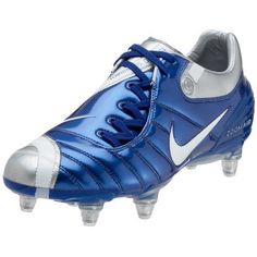 nike t90 supremacy – Google Søk Soccer Boots, Air Zoom, Blue Nike, Put On, Cleats, Royal Blue, Nike Air, Sports, Outdoors