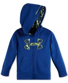 Under Armour Little Boys' Cloud Camo Fleece Hoodie