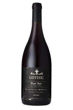 Gothic Hyland Pinot Noir 2010 Willamette Valley, Oregon Willamette Valley, Pinot Noir, Oregon, Gothic, Wine, Bottle, Drinks, Goth Subculture, Drinking