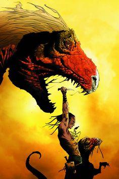 Turok, Son of Stone / Dinosaur Hunter by Jae Lee