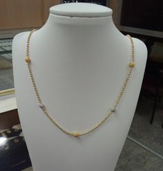 Image may contain: jewelry Gold Jewelry Simple, Simple Necklace, Gold Necklace, Gold Chain Design, Gold Jewellery Design, Gold Pendant, Pendant Jewelry, Jewelry Necklaces, Neck Chain