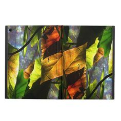 Colorful Begonia Leaf Abstract iPad Air 2 Case