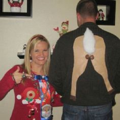 Funny Christmas sweaters...@Robin Stacy @Kristen Michaels