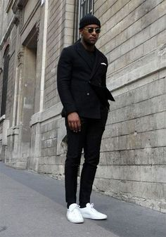 Men's Monochromatic Fashion | Famous Outfits