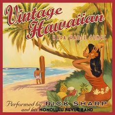 Vintage Hawaii record label