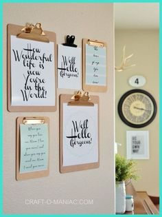 [ Wall Decor Ideas ] Wall Decor and Home Accents Ideas   #WallDecorations