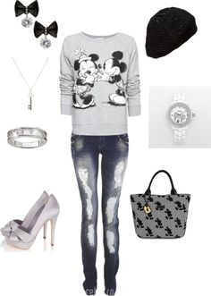 Mickey and Minnie Outfit<3