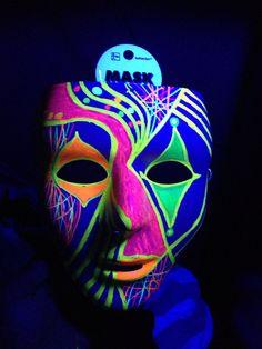 1000 images about Black light party on Pinterest #2: c1de42e e03f0b4aa4b