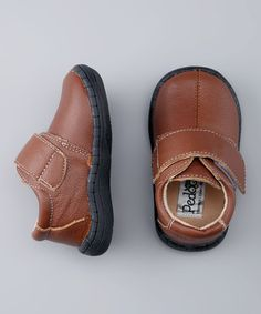 Take a look at this Brown Jumpers Shoe by Pedoodles on #zulily today!