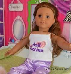 New doll diaries tees!!!!!!