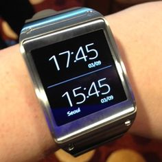 """Hands On: Samsung's Galaxy Gear Smartwatch. (The """"NEW"""" Advanced Technology of #Bluetooth at www.finderdevice.com)"""