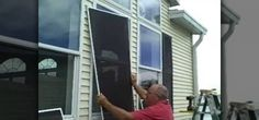 Installing your own Solar Screens