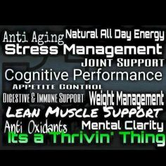 These are a few of the great things that happen when you start filling your nutritional gaps with premium grade vitamins and minerals! Change the first 30 minutes of your day and you will see changes like never before! Sign up for free and start living the life you deserve!