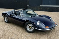 Ferrari Dino - Saw a dark blue 246 GTS last Saturday. All time fav car. sold for ~$8K in early 70'. Now ~$400-500K