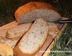 Pan de aceitunas con tomillo - Thermomix