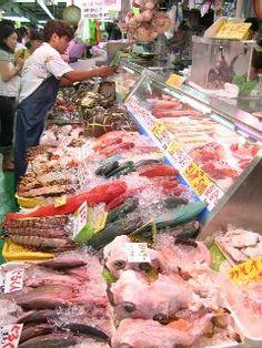 Naha, Okinawa, Japan 第一牧志公設市場