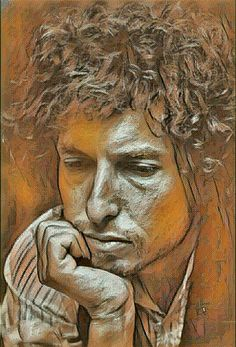 "y Bob Dylan ""Inspiration"" Pastel Drawing, Pastel Art, Painting & Drawing, Art Sketches, Art Drawings, Bob Dylan Art, Pastel Portraits, Color Pencil Art, Art Plastique"
