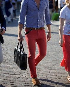 655ddfcd63b 41 Best Men s Red Pants Style images