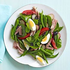 Boost Your Family\'s Iron Intake: Spinach Nicoise (via Parents.com)