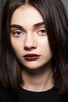 Best MFW Fall 2014 Beauty Looks #makeuptrends #MilanFashionWeek #msgm