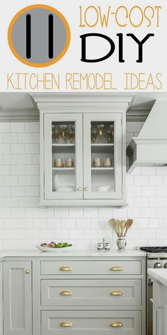 A Kitchen Remodel Can Be Really Expensive Once You Get New Cabinets,  Flooring, Back