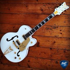 Beautiful Gretsch White Falcon from @guitars_down_under #studio33guitar #gretsch #guitar Learn to play guitar online at www.studio33guitarlessons.com
