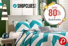 Shopclues Ghar Lao Diwali Sale offers UPTO 80% off on Bedsheets. Different variety of Bedsheets like Floral, Jaipuri, 3D, Abstract, Solid, Striped.  http://www.paisebachaoindia.com/upto-80-off-on-bedsheets-shopclues-ghar-lao-diwali-sale-shopclues/