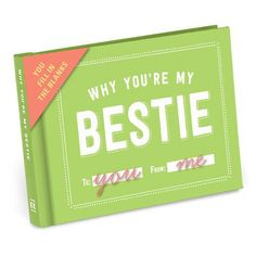 Why Youre My Bestie Journal- Best Friend Birthday Gift Ideas