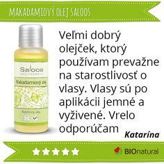 Hodnotenie makadamiového rastlinného oleja značky #saloos http://www.bionatural.sk/p/makadamiovy-olej?utm_campaign=hodnotenie&utm_medium=pin&utm_source=pinterest&utm_content=&utm_term=makadam_ro_saloos