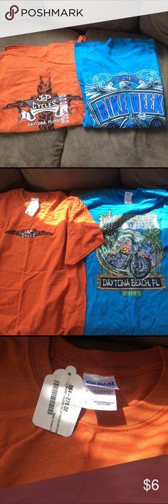 Bike week and J&P cycles bundle NWT bike week 2014 shirt and J&P cycles shirts both size large bike week Shirts Tees - Short Sleeve