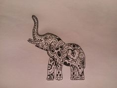 Tribal Elephant Tattoos on Pinterest | Elephant Tattoos Baby Elephant ...