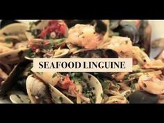 Seafood linguine is a classic Italian pasta dish. It will satisfy the craving for seafood if you like clams, mussels, perfectly cooked shrimp and calamari. T...